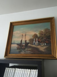 Painting with frame  Hampstead, H3X 2E5