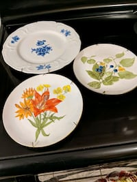 3 decorative wall plates Brampton, L6Z 2X3