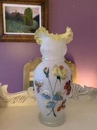 Glass Vase - Antique opaline Bristol Glass