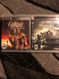 two Sony PS3 game cases 795 mi