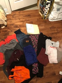 Lot of Maternity clothes-incl 7 for all mankind jeans