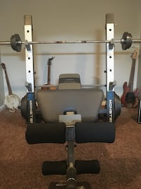 black and gray bench press Independence, 41051