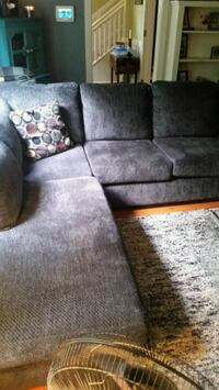 New sectional couch.. Charcoal Gray color  Cambridge, N1T