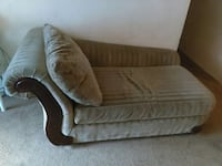 gray suede stripe chaise lounge Front Royal, 22630
