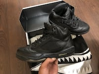 Jordan 5 Premium black leather Brampton, L6V 3C2