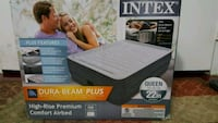 Intex Queen Size Air Bed With Build In Pump Aspen Hill, 20906