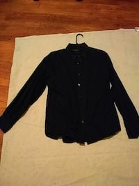 Black button up Huntington, 25701