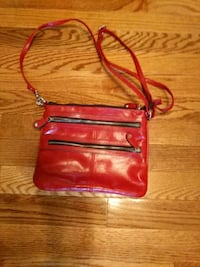 red leather crossbody bag with tassel Heiskell, 37754