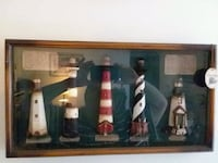 Lighthouse shadowbox wall hanging Bay City, 48706