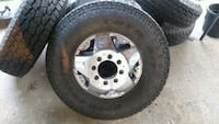 Dually rims off a 2004 F350 Fairview, 37062
