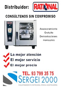 Distribuidor rational 6528 km