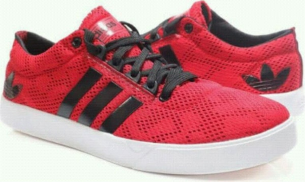 Addidas neo 2 Red cazual shoes new brand