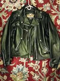 Harley Davidson motorcycle leather coat  Great Falls