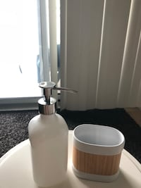 Ikea soap dispenser and tumbler  Toronto, M5V 4A9