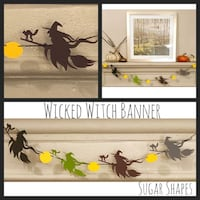 New Custom Wicked Witch Banner Farmers Branch, 75244