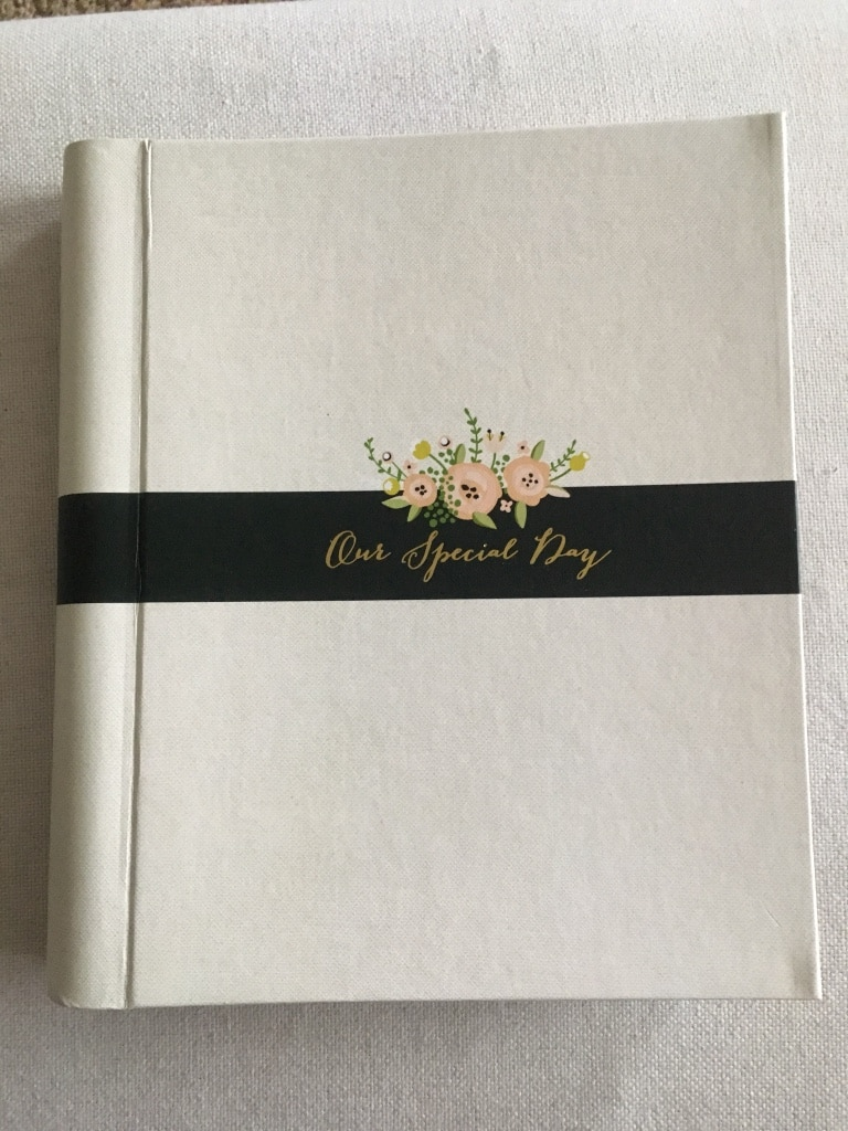 Used Our Special Day Wedding Planner