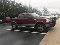 2006 Ford F-150 Lariat 4x4 SuperCrew Silver Spring