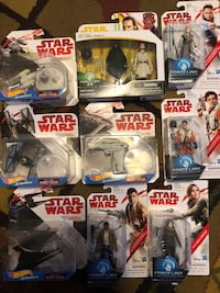 Unopened Star Wars figures Bentley, 67016