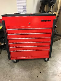 red and black tool chest Springfield