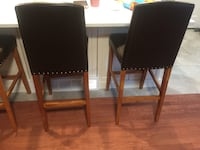 3 bar stool leather chairs London, N5Z 4R7