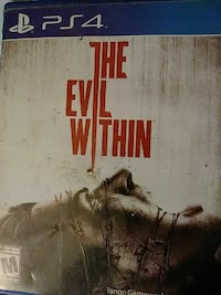 The Evil Within PS4 game case