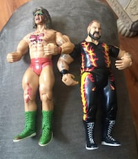Ultimate Warrior and Bam Bam