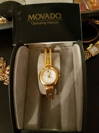 Movado watch with link bracelet Centralia, 98531