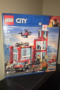LEGO City Fire station (unopened)