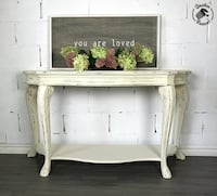 Vintage Ornate Console Sofa Table Pickering