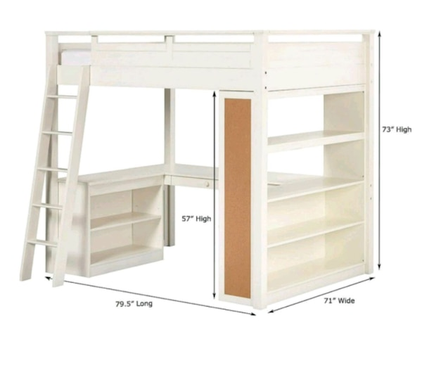 Full size w/ample storage and office space