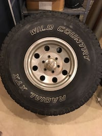 Rims and tires 315s Adrian, 49221