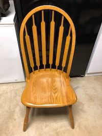 brown wooden windsor rocking chair Austell, 30168