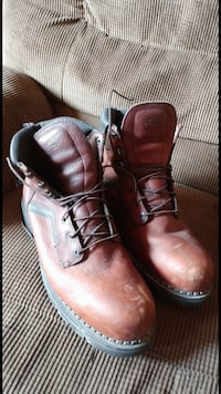 brown leather work boots Keedysville, 21756