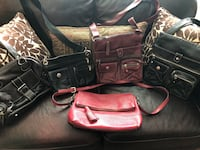 Roots leather bags and Kate Spade Georgetown, L7G 4M6