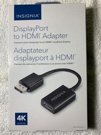Insignia, Display Port to HDMI Adapter
