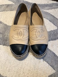 CHANEL espadrilles sized 38 comes with box, receipt and dust bag Vaughan, L4L 9R6