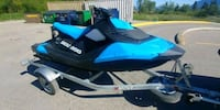 black and blue Yamaha personal watercraft Division No. 8, T4S 2B4