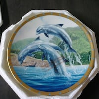 1994 Lenox Bottlenose Dolphin Collector's Plate Toms River