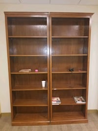 Triple wall bookcase (3rd not in picture) Arlington