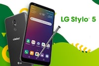 Lg Stylo 5 new in the box with accessories for Cricket Wichita, 67217