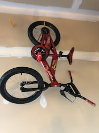 toddler's red and black bicycle Waldorf, 20601