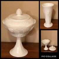 Milk glass Peabody, 01960