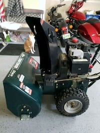 5hp 24in Craftsman snow blower 17 mi