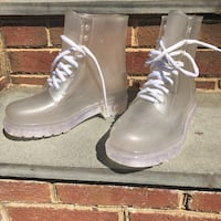 Clear jelly boots Silver Spring, 20903