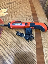 Black and Decker Power Drive screwdriver with charger
