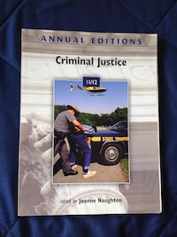 NEW! Annual editions Criminal Justice by Joanna Na Vista, 92084