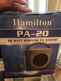 Brand New Portable PA System...deal of the month first $75 takes it Richmond Hill, L4C 2P6