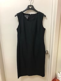 NEW JONES NEW YORK STRETCH BLACK SHIFT DRESS SZ 10 Toronto, M8W 3P3