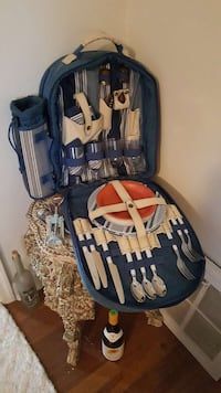 Backpack cooler and accessories.  New  Clearwater