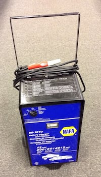 Napa 85-1010 battery charger and starter, very good condition.  Wethersfield, 06109